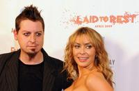 Director Robert Hall and Bobbi Sue Luther at the premiere of