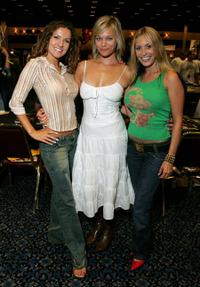Menina Fortunato, Crystal Allen and Bobbi Sue Luther at the Star Trek Convention.