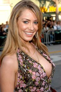 Bobbi Sue Luther at the premiere of