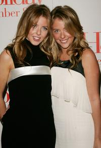 Hallie Meyers-Shyer and Annie Meyers-Shyer at the premiere of