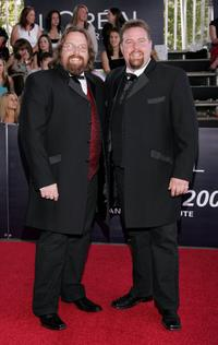 Clayton Jacobson and Shane Jacobson at the L'Oreal Paris 2006 AFI Awards.
