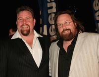 Shane Jacobson and Clayton Jacobson at the 2006 Hisense Inside Film Awards.