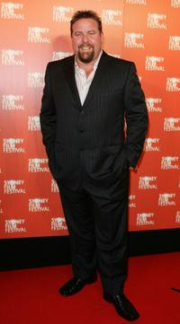 Shane Jacobson at the opening night of the 54th Sydney Film Festival.