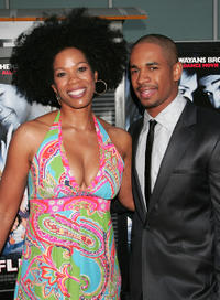Kim Wayans and Damon Wayans Jr. at the California premiere of