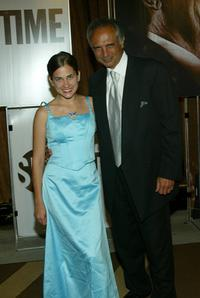 Kaitie Miano and Robert Miano at the 56th Annual Primetime Emmy Party.
