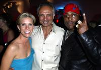 Cheryl Hines, Robert Miano and rapper Won G at the 2nd Annual Emmy Party.