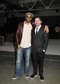 Jas Anderson and Kyle Fitzgibbons at the Native Son 3D Fashion Presentation.