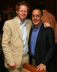 Jesse Tyler Ferguson and David Crane at the 2006 Summer Television Critics Association Press Tour.