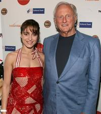 Audrey Dana and Samuel Goldwyn Jr. at the 12th Annual City of Lights, City of Angels French Film Festival.