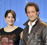Audrey Dana and Vincent Lindon at the photocall of