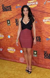 Natalie Martinez at the taping of Spike TV's 2nd Annual