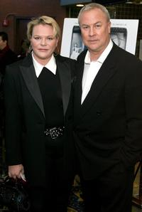 Katrina Otto Bernstien and Robert Wilson at the premiere of