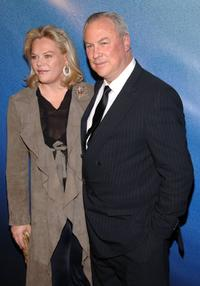 Director Katharina Otto-Bernstein and Robert Wilson at the premiere of
