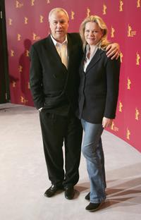 Robert Wilson and Director Katharina Otto-Bernstein at the photocall of