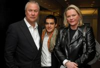 Robert Wilson, Lovis Dengler and Katharina Otto-Bernstein at the screening of