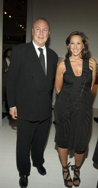 Robert Wilson and Donna Karan at the Pre-Opening Benefit for the Watermill Center.