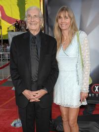 Martin Landau and Gretchen Becker at the world premiere of