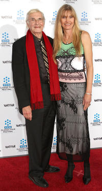 Martin Landau and Gretchen Becker at the California premiere of