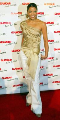 Michael Michele at the Glamour Magazine's Don't Party event.