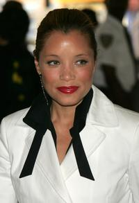 Michael Michele at the reception to celebrate the publication of former President Bill Clinton's book