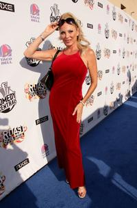 Shelley Michelle at the Comedy Central Roast of Bob Saget.
