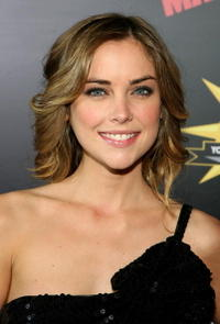 Jessica Stroup at the premiere of the film