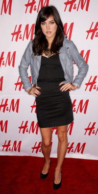 Jessica Stroup at the H&M's Divided Exclusive Collection launch party.