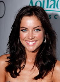 Jessica Stroup at the premiere party for the CW Network's
