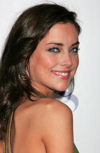 Jessica Stroup at the CW/CBS/Showtime/CBS Television TCA party.