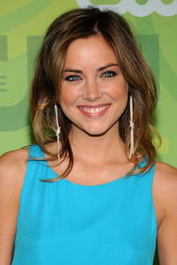 Jessica Stroup at the CW Network's Upfront.
