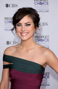 Jessica Stroup at the 35th Annual People's Choice Awards.