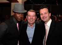 Edi Gathegi, Alan Ladd Jr. and Sean Bailey at the after party of the premiere of