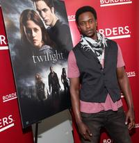 Edi Gathegi at the DVD release party of