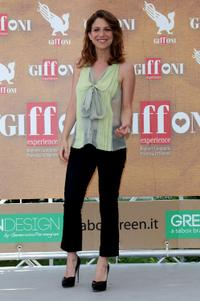 Isabella Ragonese at the Giffoni Experience 2010 in Italy.