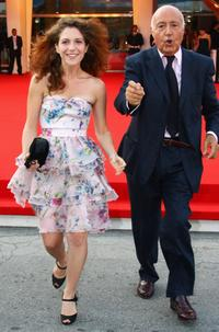 Isabella Ragonese and Franco Mariotti at the premiere of