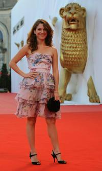 Isabella Ragonese at the screening of