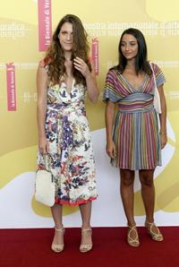 Isabella Ragonese and Federica De Cola at the photocall of