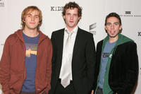 Michael Stahl-David, Billy Lush and Keith Nobbs at the premiere of