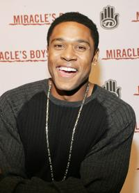 Pooch Hall at the premiere of