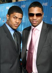 Pooch Hall and Hosea Chanchez at the 38th annual NAACP Image Awards.