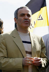 Garry Kasparov at the