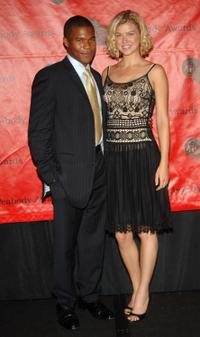 Gaius Charles and Adrianne Palicki at the 66th Annual Peabody Awards.
