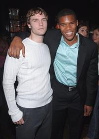 Scott Porter and Gaius Charles at the Gersh Agency Celebration of Upfronts.