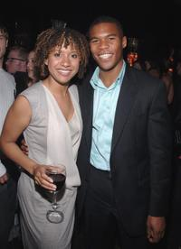 Traci Thoms and Gaius Charles at the Gersh Agency Celebrates of Upfronts.