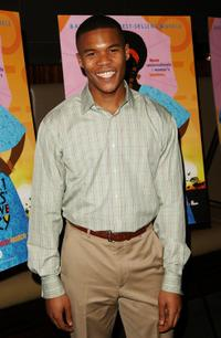 Gaius Charles at the screening of