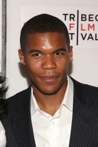 Gaius Charles at the premiere of