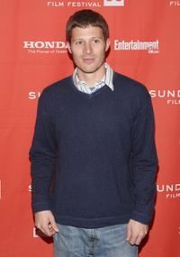 Zach Gilford at the screening of