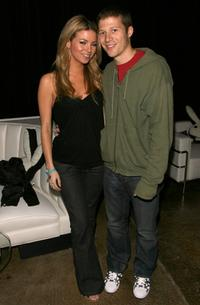 Amber Lancaster and Zach Gilford at the Playboy and Crown Royal present Barbershop Lounge.