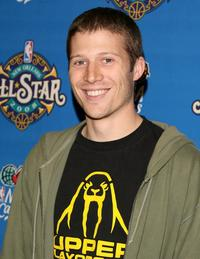 Zach Gilford at the 57th NBA All-Star Game.
