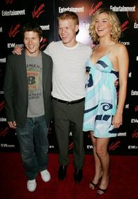 Zach Gilford, Jesse Plemons and Adrianne Palicki at the Entertainment Weekly and Vavoom's Network Upfront party.